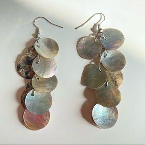3/$20 Shell Drop Earrings